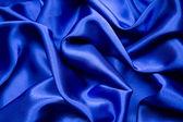 Blue satin pattern — Stock Photo