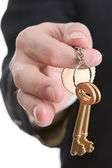 Golden keys series - Success secret — Stock Photo