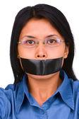 No speech freedom — Stock Photo