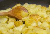 Baked potatoes — Stock Photo