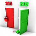 machen Sie sich bereit für das Jahr 2012 — Stockfoto