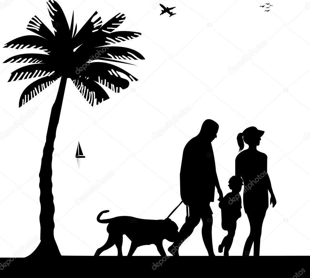 family walking silhouette family photo silhouette silhouettes of    Family Walking Silhouette