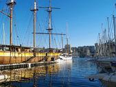 Vieux port de Marseille, France — Стоковое фото