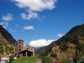 Sant Joan de Caselles (Andorra), romanesque church — Stock Photo