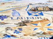 Laudun - Roman village in France — Stock Photo