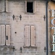 Hotel sign in Avignon, France — Stock Photo