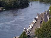 Rhone river in Avignon, France — Stock Photo