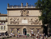 Theatre festival in Avignon, july 2012 — Stock Photo