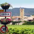 Orsan, french typical village — Stock Photo