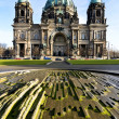 Cathedral in berlin — Stock Photo