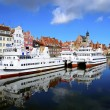 Gdansk harbor, poland — Stock Photo #10962136
