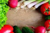 Telaio di verdure — Foto Stock