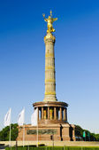 Victory column in berlin, germany — Stock Photo