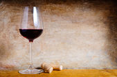 Red wine background — Stock Photo