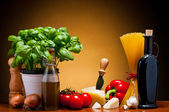 Italian cuisine food — Stock Photo