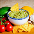 Stock Photo: Guacamole ingredients