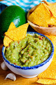 Avocado guacamole — Stock Photo