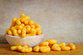 Cheese curls — Stock Photo