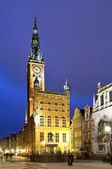 Old city hall in gdansk — Stock Photo
