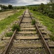 Stock Photo: old beautiful railroad
