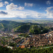 Brasov (Kronstadt) panorama — Stock Photo