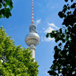 Fernsehturm (tv-tower) in Berlin - Stock Photo