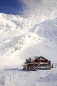 Casa de invierno — Foto de Stock