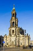 Hofkirche in dresden — Stock Photo