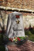 Anıt bellek düşen i̇kinci dünya savaşı — Stok fotoğraf