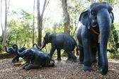 Elephant Statues — Stock Photo