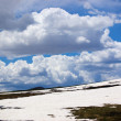 Cloudy Continental Divide — Stock Photo