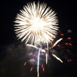 Stock Photo: Bright White Firework