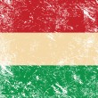 Royalty-Free Stock Vector Image: Hungary retro flag