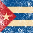 Royalty-Free Stock Vector Image: Cuba retro flag