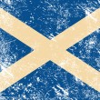 Scotland retro flag - Image vectorielle