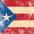 Royalty-Free Stock Vector Image: Puerto Rico retro flag