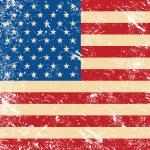 USA vintage grunge flag — Stock Vector