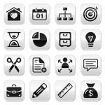 Internet web buttons set — Stock Vector