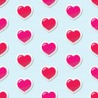 Royalty-Free Stock Vector Image: Seamless Heart love background, pattern