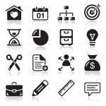 Internet web icons set — Stock Vector