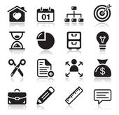 Internet web icons set — Vettoriale Stock