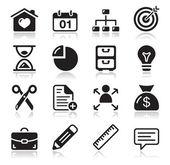 Internet web ikoner set — Stockvektor