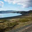 Stock Photo: Lake kleifarvatn
