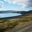 Lake kleifarvatn — Stock Photo