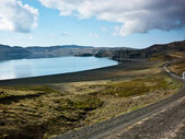 Lake kleifarvatn — Stock Photo