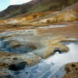 Geothermal area of seltun — Stock Photo