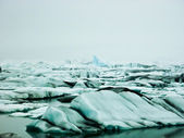 Iceberg lagoon of jokulsarlon — Stock Photo