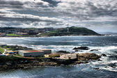 The coast of death in La Coruna — Stock Photo