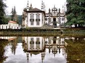 Palacio de mateus en real vila — Foto de Stock