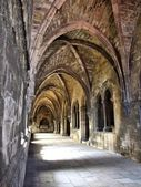 Cloister of Lisbon cathedral — Stock Photo